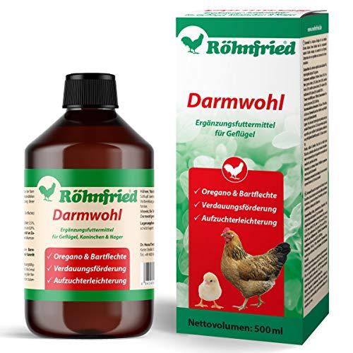 Röhnfried Darmwohl 500 ml   Nahrungsergänzung für Nager, Geflügel & Kleintiere   geförderte Verdauung & erleichterte Aufzucht