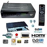 Decoder Receiver DIGITAL terrestrisch hd-999-T2TV Scart HDMI 1080p Reg PVR HD
