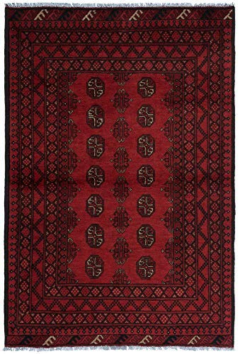 The Rug Centre Teppich, Afghan, Rot