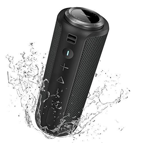 Bluetooth Lautsprecher Boxen SONGLOW PartySync: 40W Tragbare Bluetooth-Lautsprecher mit Gutem Bass & Lauter Lautstärke & 40 Meter Kabellose Reichweite & IPX7 Wasserdichter
