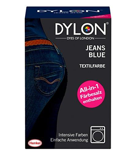 DYLON Textilfarbe, Jeans Blue, 1er Pack (1 x 1 Stück)
