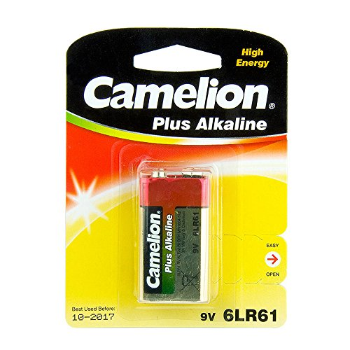 Camelion 6LF22-BP1 Single-use Battery 9V Alkali 9 V - Batterien (Single-use Battery, 9V, Alkali, Fernglas, 9 V, 1 Stück(e))