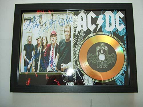ACDC signierte Mini-Disc.