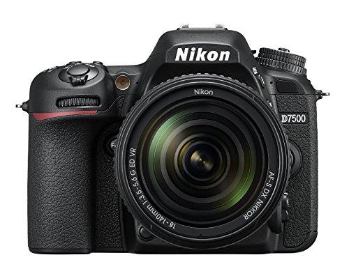 Nikon D7500 Kit AF-S DX 18-140mm f/3.5-5.6 VR Spiegelreflexkamera,schwarz