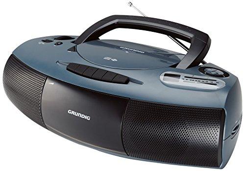 Grundig RRCD 1400 CD-RADIO-RECORDER in grau/schwarz
