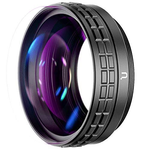 ULANZI WL-1 18mm Weitwinkelobjektiv mit 10x Makro, 2-in-1, für Sony ZV1 Kamera