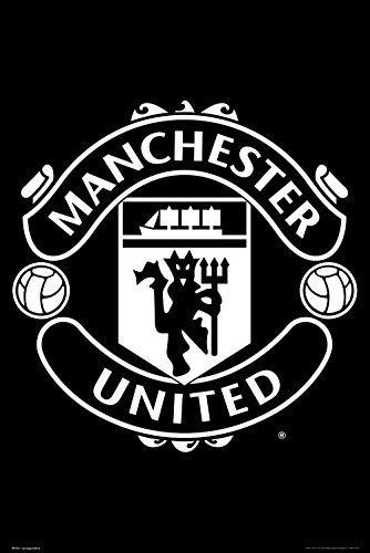 GB Eye Ltd Manchester United, Crest 17/18, Maxi Poster 61x 91,5cm, Holz, Verschiedene, 65x 3,5x 3,5cm