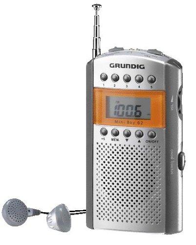 Grundig Mini 62 Kompaktes Radio im Taschenformat como/silber