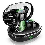 Bluetooth Kopfhörer, Iporachx Bluetooth Kopfhörer in Ear, 3D Stereo Sound IPX7 Wasserdicht Kopfhörer Bluetooth Sport Bluetooth 5.0 mit Mini Ladekästchen und Mikrofon, LED-Anzeige und Touch Control