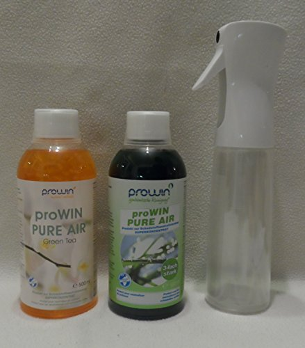 ProWin Pure Air 500 ml & Green Tea + proWin Air Pump Flasche