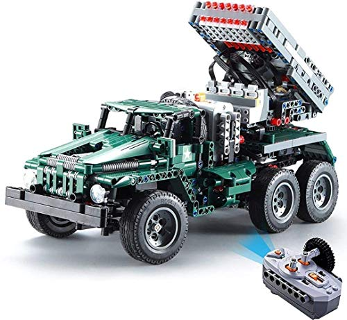 Modell 1369pcs, 2.4g Radio Control, montiertes elektrisches Spielzeug, Kinder Puzzle Kleine Spielzeug, für Kinder Geburtstagsgeschenke Puzzlespiele 8bayfa