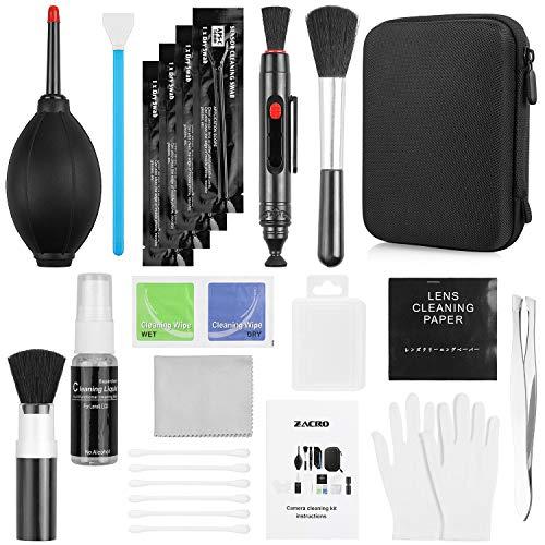 Zacro 14 Stück Kamera Reinigungset,Reinigungstücher für Kameras,Objektive Reinigungs-Sets für Kamera,Computer, Handy, Digitalkamera
