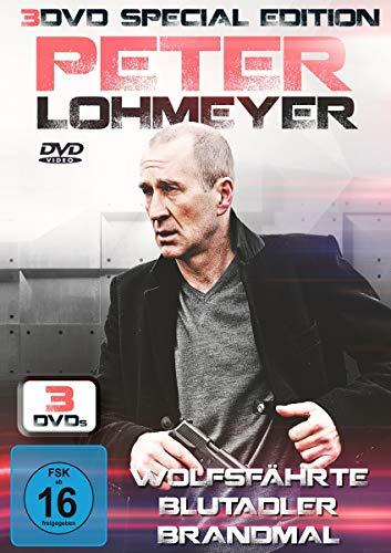 Peter Lohmeyer - Special Edition - 3DVDs - Wolfsfährte, Bludadler, Brandmal