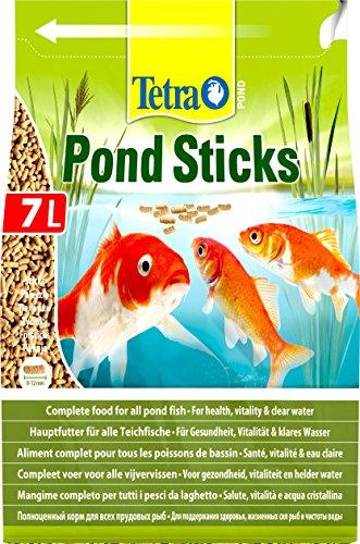 Tetra Pond Sticks - Fischfutter für Teichfische, für gesunde Fische und klares Wasser, verschiedene Größen