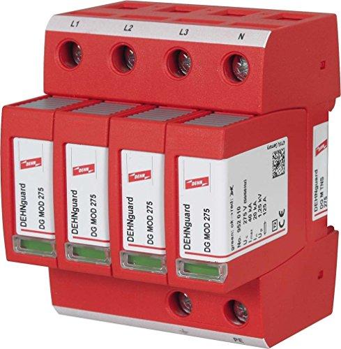 Dehn 952400 ÜS-Ableiter DEHNguard DG M TNS 275 230/400V,IP20,Typ2 Überspannungsableiter für Energietechnik/Stromversorgung 4013364108455