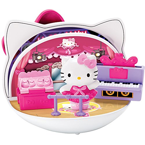 Bkids Hello Kitty Magic Turnovers Mini Concert and Ballet Play Set
