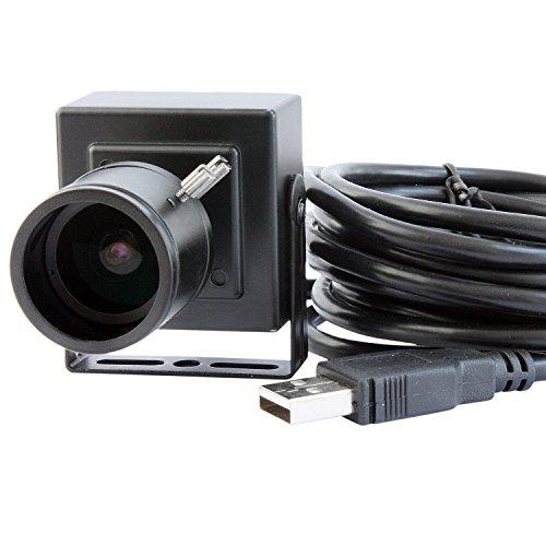 ELP 1080P 2MP 30fps JPEG 1920 x 1080 Full HD Mini USB Box CMOS Kamera mit 2.8-12mm Vario Objektiv