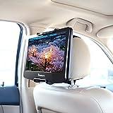 NAVISKAUTO Kopfstützenhalterung für 10' ~ 12.5' DVD Player Verstellbare Auto KFZ Kopfstütze Halterung Gehäuse, 1 Stück