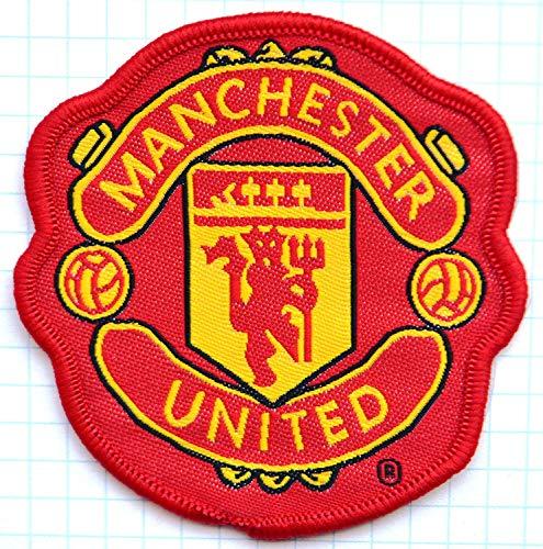 Flicken, Manchester United Football Club, Durchmesser: 8 cm, bestickter Aufnäher, Imitat -509