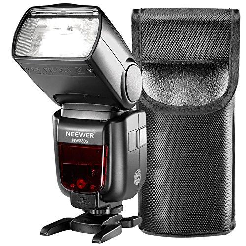 Neewer 2.4G HSS 1/8000 s TTL GN60 Funk Master Slave Blitz Speedlite für Sony A9 A7III A7RIII A7II A7RII A7SII A7R A7S A6500 A6300 A6000 A77II RX10II / III/IV Kameras (NW880S)